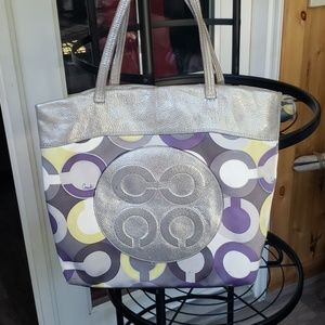 Coach Julia OP Art Tote
